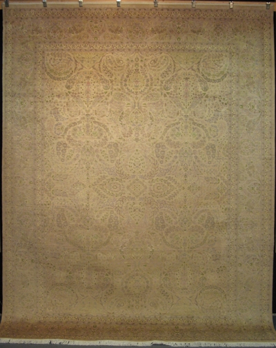 "Nagshe Tabriz - Arts & Crafts de William Morris : 11'9"" x 8'11"""