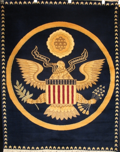Oval Office US Seal 56 x 43 Montreal Carpet Store Bashir