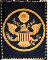 """White House Oval Office Seal: 5'6"""" x 4'3"""""""