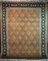 "Qum Trellis - Arts & Crafts by William Morris : 12'3"" x 9'"