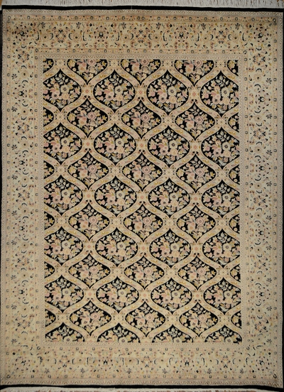 "Qum Trellis - Arts & Crafts de William Morris : 13'11"" x 10'1"""