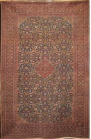 "Semi-Antique Tabriz : 10'4"" x 6'7"""