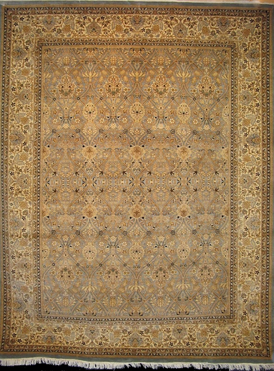 "Tabriz - Arts & Crafts by William Morris : 10'5"" x 7'11"""
