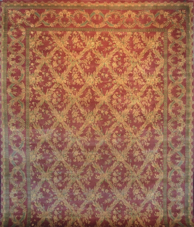 Tabriz Trellis - Arts & Crafts by William Morris: 12' x 9'1""