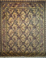 "Tabriz Trellis - Arts & Crafts de William Morris : 12'2"" x 9'2"""