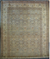 "Tabriz Trellis Arts & Crafts de William Morris : 12'4"" x 9'3"""