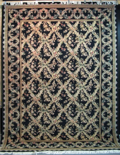 Tabriz Trellis - Arts & Crafts de William Morris :  12' x 9'