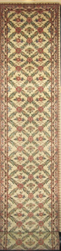 "Tabriz Trellis-Arts & Crafts de William Morris: 25'7"" x 2'7"""