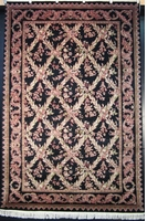 "Tabriz Trellis - Arts & Crafts de William Morris : 9'3"" x 6'2"""