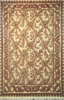 "Tabriz Trellis - Arts & Crafts de William Morris : 9'4"" x 6'1"""
