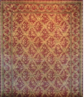 Tabriz Trellis - Arts & Crafts par William Morris: 12' x 9'1""