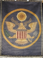 """White House Oval Office Seal : 5'7"""" x 4'2"""""""