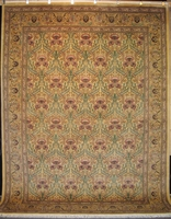 "Zerekhaki Tabriz - Arts & Crafts de William Morris : 12'2"" x 9'1"""