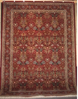 Zerekhaki Tabriz - Arts & Crafts de William Morris : 12' x 9'
