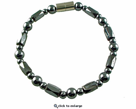 Hematite Magnetic Therapy Anklet Europa