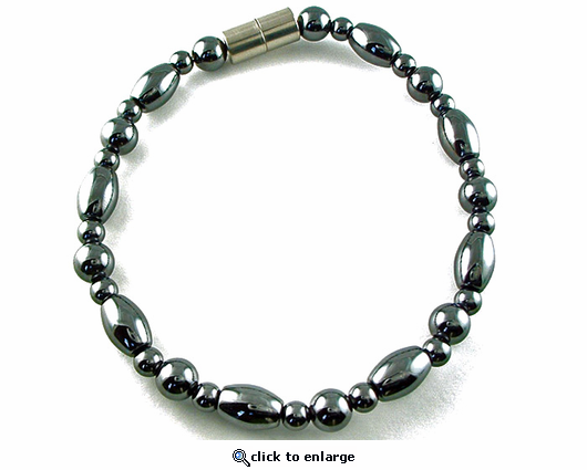 Hematite Magnetic Therapy Necklace Venus
