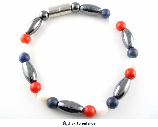 Hematite Magnetic Therapy Anklet USA