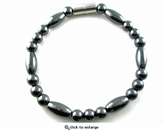 Hematite Magnetic Therapy Anklet Trey Rice