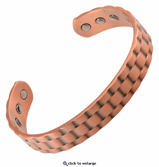 Ripple Copper Magnetic Therapy Bracelet