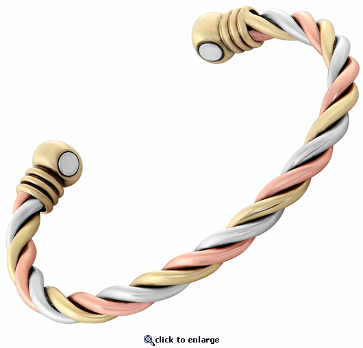 Serenity Copper Magnetic Therapy Bracelet