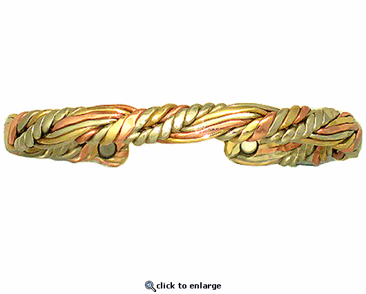 Sergio Lub Copper Magnetic Bracelet Sumerian Queen 739