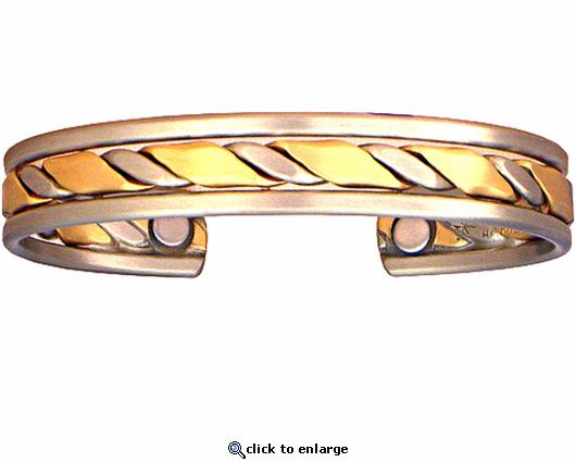 Sergio Lub Copper Magnetic Therapy Bracelet Rodeo 589
