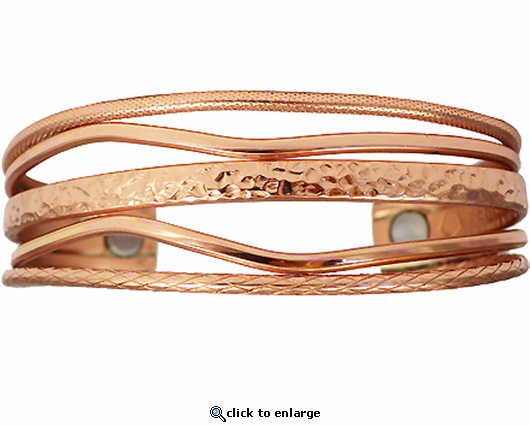 Sergio Lub Magnetic Therapy Bracelet Copper Tide 842