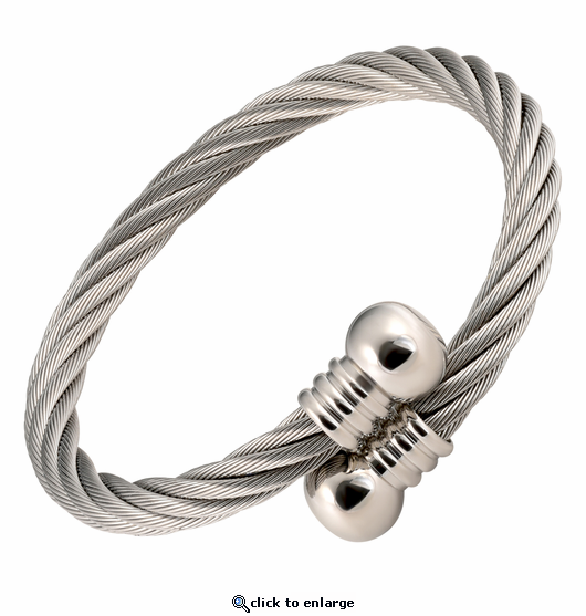 Stainless Steel Magnetic Therapy Bracelet Door Knob