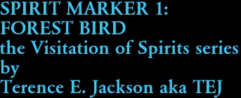 SPIRIT MARKER 1:  FOREST BIRD the Visitation of Spirits series by Terence E. Jackson aka TEJ