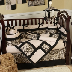 Animal Print Baby Crib Bedding Animal Safari 9 Pc Crib Set
