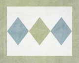 Argyle Green Accent Floor Rug by Sweet Jojo Designs