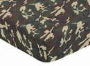 Army Green Camo - Camo Print Crib Sheet
