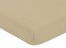 Army Green Camo - Khaki Crib Sheet