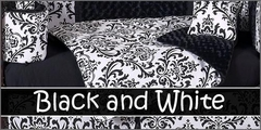 Black and White Baby Bedding