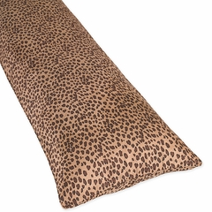 Cheetah Animal Print Collection Body Pillow Cover