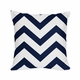 Chevron Navy and White 4pc Teen and Kids Twin Bedding Set