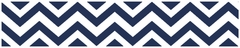 Chevron Navy and White Wallpaper Border by Sweet Jojo Designs