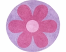Daisy Flower Accent Floor Rug by Sweet Jojo Designs