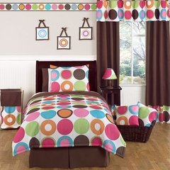 Deco Dot Modern Polka Dot - 3 Piece Full/Queen Bedding Set