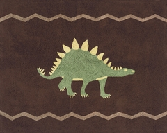 Dinosaur Land Accent Floor Rug by Sweet Jojo Designs