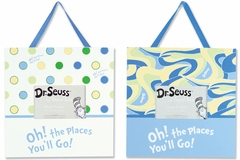 Dr. Seuss Oh! The Places You'll Go Blue 2pc Frame Set by Trend Lab