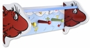 Dr. Seuss One Fish Two Fish Shelf with Pegs by Trend Lab