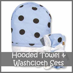 Hooded Towel and Washcloth Sets