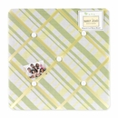 Leap Frog Collection Green and Yellow Fabric Memo Board