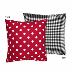 Little Ladybug Collection Decorative Accent Throw Pillow