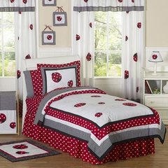 Little Ladybug Kids Bedding - 3 Piece Full/Queen Set