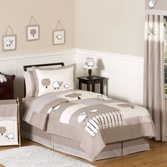 Little Lamb Bedding - 4 Pc Twin Bedding Set