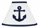 Nautical Anchor Lamp Shade by Sweet Jojo Designs