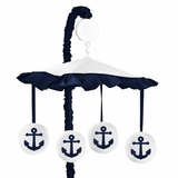 Nautical Anchor Musical Mobile by Sweet Jojo Designs