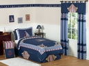 Nautical Nights Sailboat Kids Bedding 3 Piece Full/Queen Set
